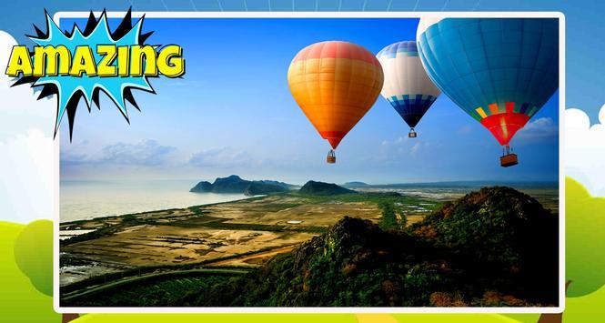 Air Ballon Wallpaper poster