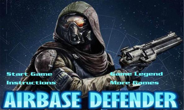 Airbase Defender-Shooting Game poster