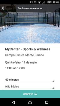 MyCenter - Sports & Wellness screenshot 2