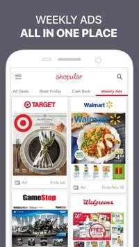 Shopular: Coupons, Weekly Ads & Shopping Deals apk screenshot