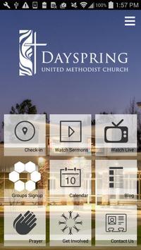 Dayspring UMC Tyler Texas apk screenshot