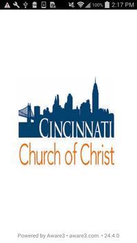 Cincinnati Church of Christ poster