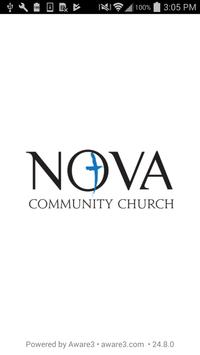 Nova Community Church poster