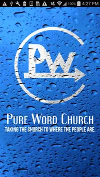 Pure Word Church poster