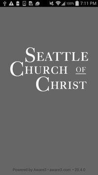 Seattle Church of Christ poster