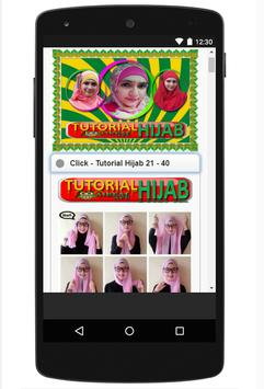 Hijab Tutorial & Fashion screenshot 4