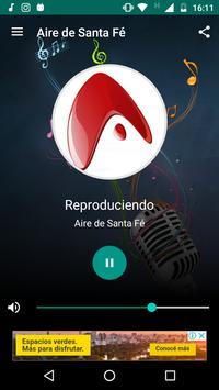 Aire de Santa Fe poster