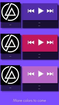 Muzic Widget - Zooper Skins screenshot 1