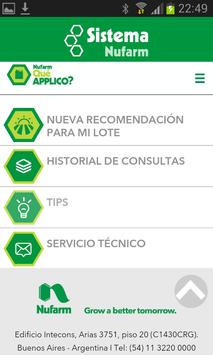 Que APPlico - Sistema Nufarm screenshot 1