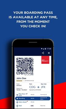 Air France - Airline tickets apk screenshot