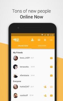 airG - Meet New Friends screenshot 1