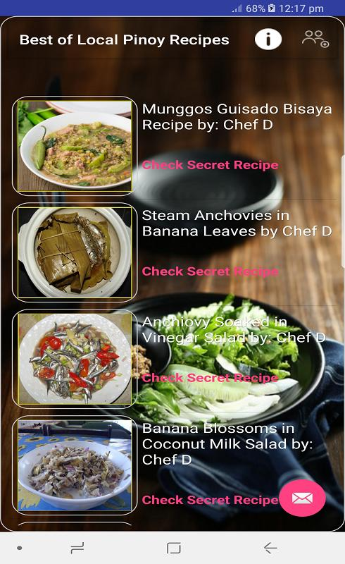 Best of local pinoy recipes apk download free lifestyle app for best of local pinoy recipes apk screenshot forumfinder Gallery