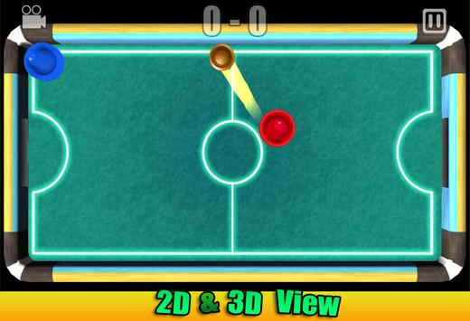 Air Glow Hockey 3D - New 2016 apk screenshot