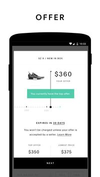 Schermata apk GOAT: Buy & Sell Sneakers