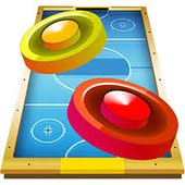 Air hockey 2 players icon