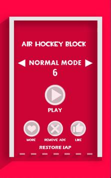 Air Hockey Block poster