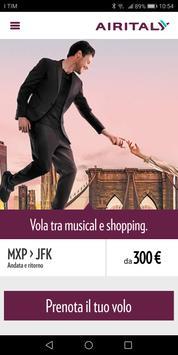 Air Italy poster
