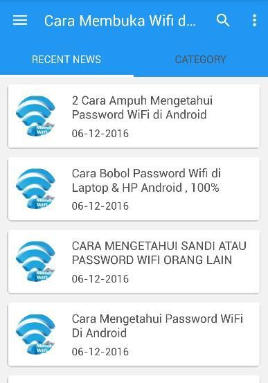 Cara Membuka Pasword Wifi for Android - APK Download