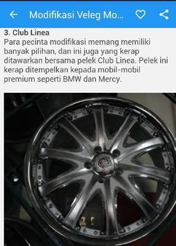 Modifikasi Velg Mobil Racing screenshot 4