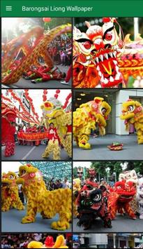 Barongsai dan Liong Wallpaper - Imlek screenshot 1