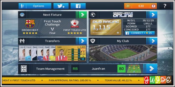 Guide For Dream League Soccer 18 screenshot 3