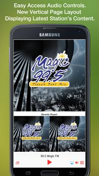 Magic 99.5 FM screenshot 1