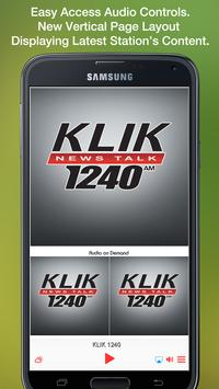 KLIK 1240 poster