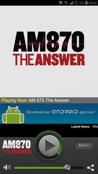 AM 870 The Answer screenshot 1
