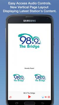 98.9 The Bridge screenshot 1