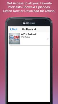 News/Talk 590 WVLK apk screenshot