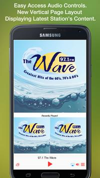 97.1 The Wave poster