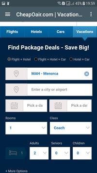 Airline Ticket Booking United States apk screenshot
