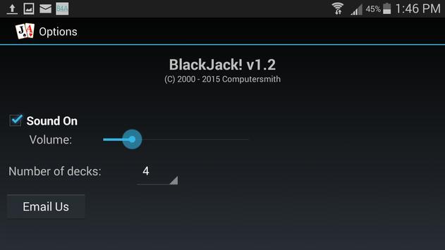 BlackJack! apk screenshot