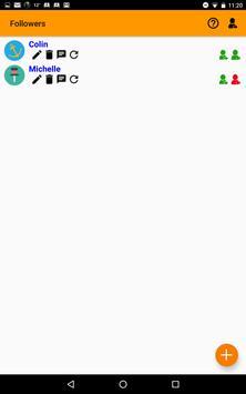 followMyLife apk screenshot