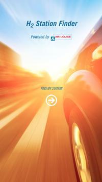 Hydrogen Station Finder poster