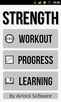Strength: Fitness & Exercise poster