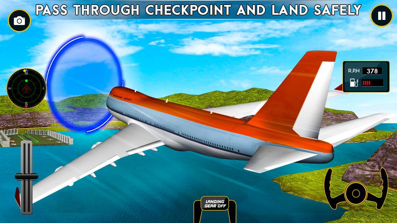 Airplane Flight Pilot Sim 3D for Android - APK Download