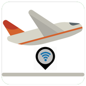 airport wifi map icon