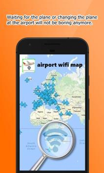 airport wifi map poster