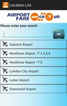 Airport Fare screenshot 3