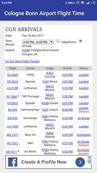 Cologne Bonn AirportFlightTime screenshot 1