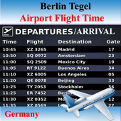 Berlin Airport Flight Time icon