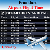 Frankfurt Airport Flight Time icon