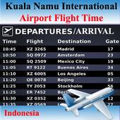 Kuala Namu Airport Flight Time icon