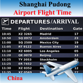 Shanghai Pudong Airport Flight icon
