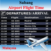 Subang Airport Flight Time icon