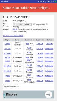 Sultan Hasanuddin AirportTime apk screenshot