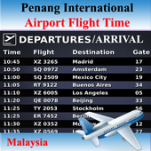 Penang Airport Flight Time icon