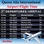 Queen Alia Airport Flight Time icon
