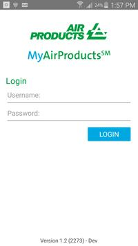 MyAirProducts Container Tracking poster